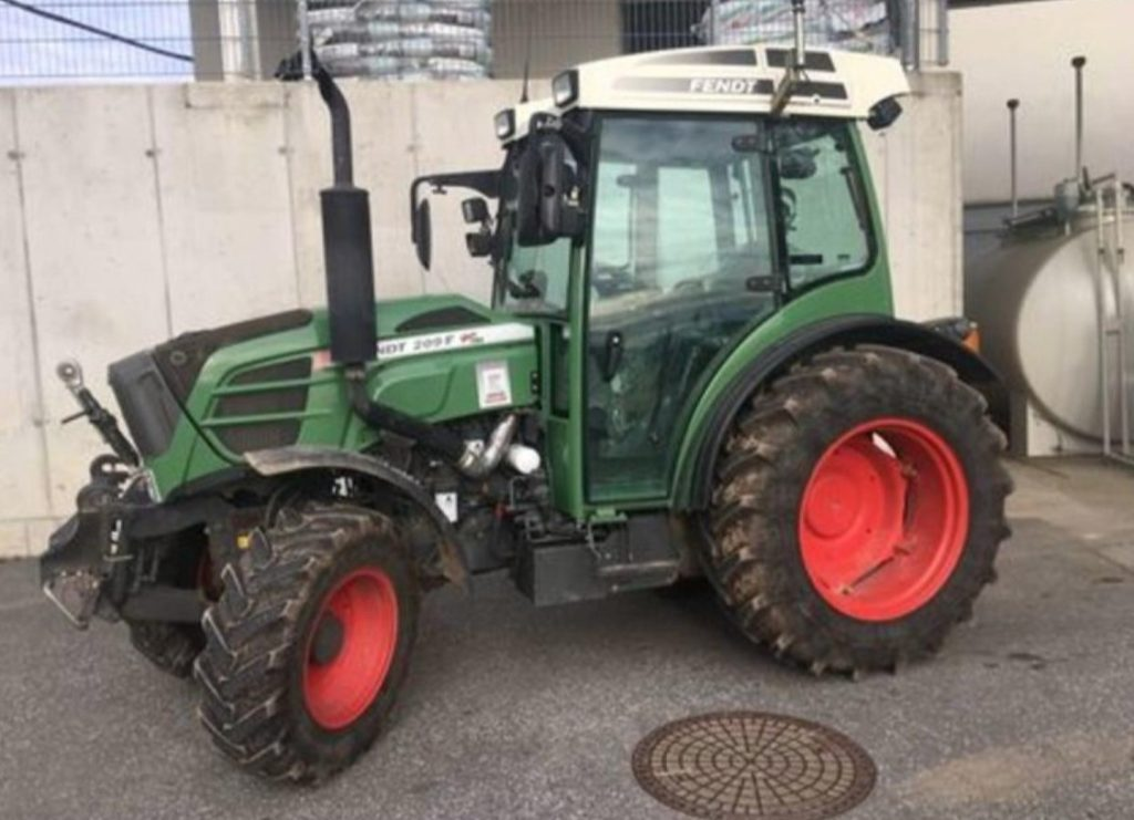 Fendt 209 F 2015 price for sale