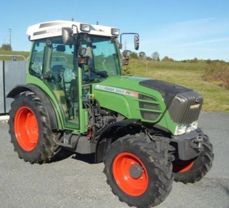 Fendt 209 F 2009 price for sale